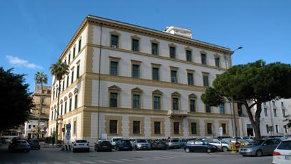 Il palazzo del Libero Consorzio di Agrigento