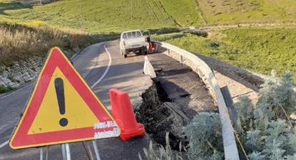 Numerosi interventi del personale del Libero Consorzio per garantire la viabilità sulle strade provinciali