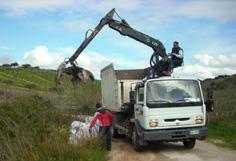 Operazioni di rimozione di rifiuti pericolosi