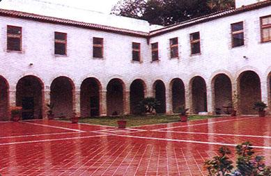 atrio del museo Badia
