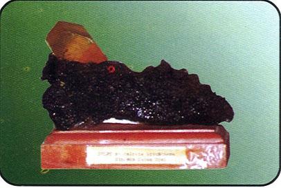 minerale in esposizione