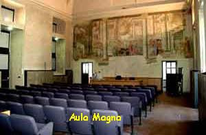 Aula magna del DIPARTIMENTO DI BIOLOGIA ANIMALE E DELL'UOMO DELL'UNIVERSITÀ DI TORINO