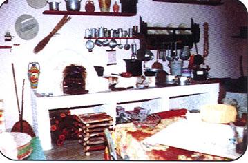 ricostruzione della cucina